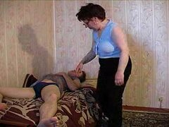 Russian Granny And Boy 113