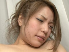 Curvy asian whore Tsubasa Tamaki gets her hairy snatch pleased