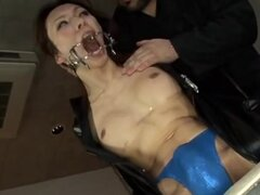 Asian shemale was tortured and humiliated