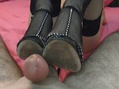 Sharon From Tel-Aviv Making Footjob