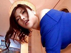 Anri Okita gets her pussy eaten and then enjoys hot sex in reverse cowgirl position