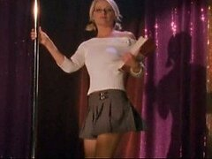 Sexy Beverly Lynne Pole Dancing