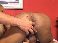 Hot gay and sexy blonde fucked hard