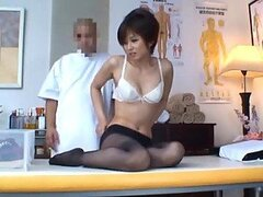 Horny Asian Housewife Is Fucked By Her Masseuse