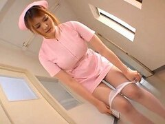 Momoka Nishina Is A Hot Nurse With Big Natural Tits