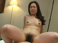 Painful pleasures for hairy Japanese milf Tomomi Tani