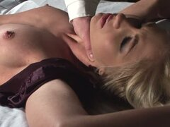 Bondage Sex in the Hospital with Horny Doctor and Blonde Babe Cindee Whtie