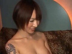 Drunk Tattooed Japanese Beauty Fucking a Guy She Met At a Club