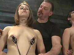 Lots Of Babes Tied Up and Having Their Tits Tortured