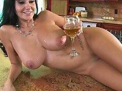 Great Titty Fuck and Pussy Banging In The Kitchen with MILF Ava Addams