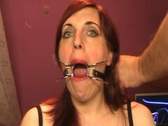 Me and my mouth gag...