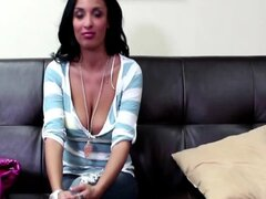 Superhot french girl on the Casting Couch