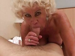 Horny granny in hard POV action