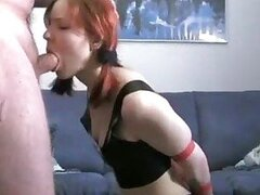 Good spanking of her latex clad ass