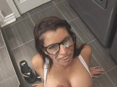 Tiffany Preston Nerd fucking for cash