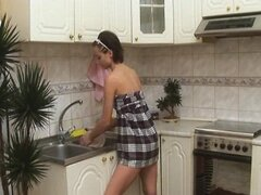 Alina In The Kitchen - Anal S88