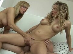 Mom teaching innocent teen all about sex