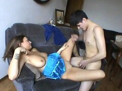 Hot Sex With The Busty Teen Galla In A Homemade Video