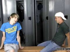 Twinks Have Locker Room Love