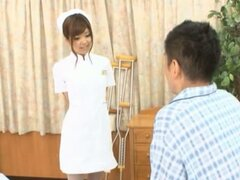 Naughty Nurse Erika Takes A Creampie From A Patient