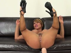 Ava Devine loves riding a fucking machine because it does all the work