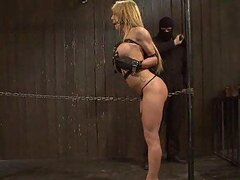 Blondie Screams For Punishment