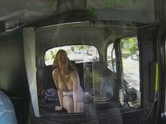 Amateur offers blowjob for taxi ride