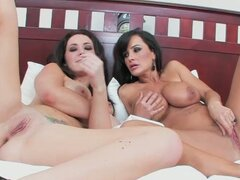 Jayden james & lisa ann flick their beans