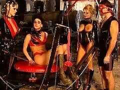 Dominant Bondage Slut CG Summers Has Fun With Her Lesbian Sex Slaves