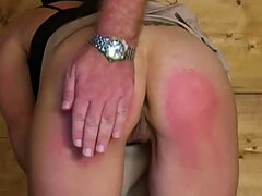 Gorgeous daddy is playing with her wonderful ass