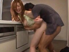 Horny Japanese Couple Having Hot Hardcore Sex In The Public Restroom