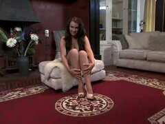 Amy Anderson - Sweet pantyhose treat.