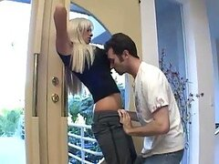 Horny Blonde Tanya James Gets Smashed By James Deen's Big Cock