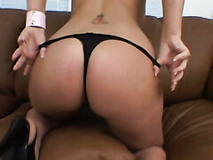 Claire James Anal Fucked By Black Dick