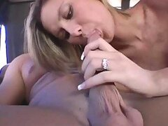 Sexy nympho Susan gets in the bangbus and fucks hard