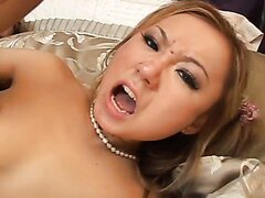 Asian Beauty in Anal Domination. Part 4