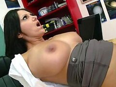 Very Busty Teacher Ava Addams Loving a Big Schlong