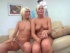 Double Blonde Camel Toe
