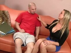 Horny Blond MILF Hottie Abbey Brooks Needs a Tune-Up