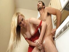 Teen Morning Handjob