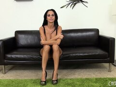 Ava Addams is so sexy in black lingerie, but looks better when she's naked