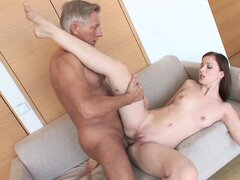 Abigaile Johnson gets her tight ass stuffed with cock