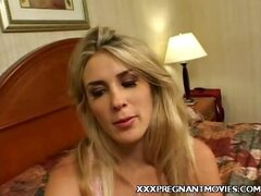 Blonde Preggo Ciera Enjoys Hard Pounding