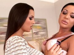 Eve Angel & Angelica lesbians