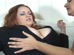 Busty Maid Seduces Big Tits Madam