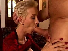 Short Haired Milf Gets Fucked By Her Favorite Pornstar
