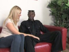 Busty blonde christina skye drilled by black cock