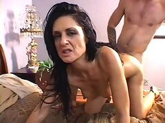 Horny Brunette Has Her Hairy Pussy Shaved And Fuck Hard