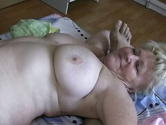 Hilarious threesome with couple of nearly dead grannies