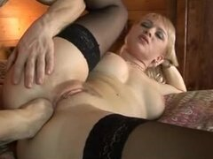 Hot slut fisted in her tight ass